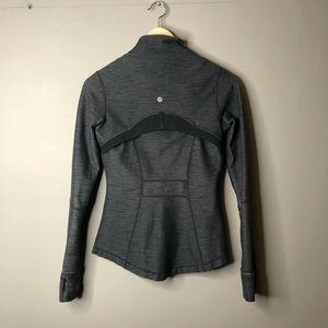 lululemon athletica Sweaters - Lululemon Define Jacket Gray Black Sweater Zip 4